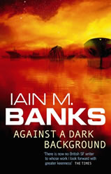 Against a Dark Background - book cover